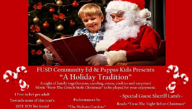Pappas Kids & FUSD Community Ed Presents