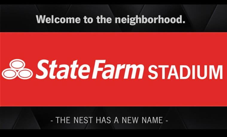 New Name For Cardinals' Nest: State Farm Stadium